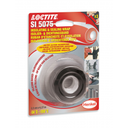 LOCTITE SI 5075, Silikonband, schwarz, 4,27 m Rolle